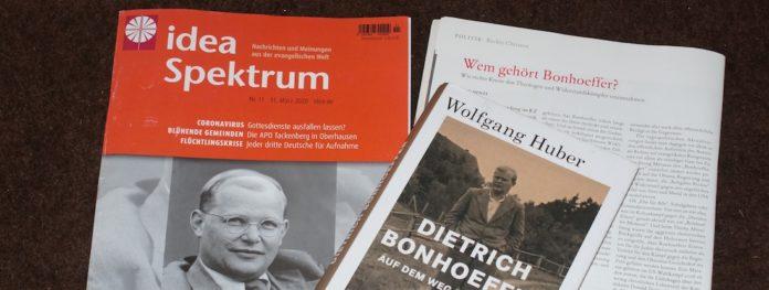 Aktuelle Publikationen zu Dietrich Bonhoeffer. Foto: Borée