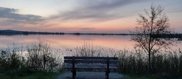 Abendstimmung am Altmühlsee. Foto: Tanja Kleemann