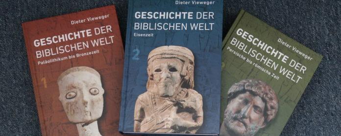 Dieter Viewegers Geschichte der biblischen Welt. Foto: Borée