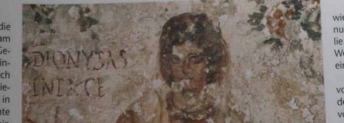 Heilige mit Gebetsgestus. Calixtus-Katakombe Rom, um 300.Foto: akg