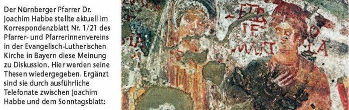 Petronilla und Veneranda, Domitilla-Katakomben, Rom um 350.Bild: akg