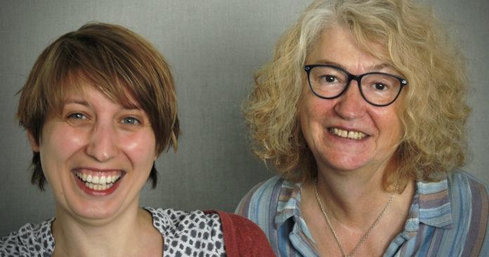 Lena Pechar (links), Projektkoordination, und Kollegin Heidi Schröter-Scherm koordinieren gfi.Foto: gfi
