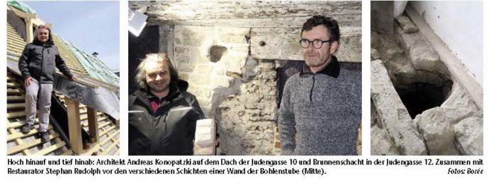 Einblicke in die Renovierung der Rothenburger Judengasse mit Architekt Andreas Konopatzki