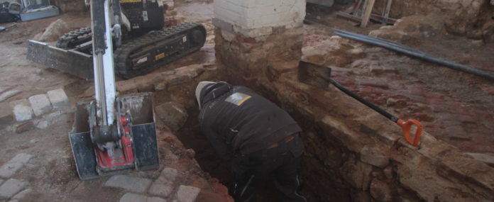 Archäologische Grabungen im Kloster Michelfeld