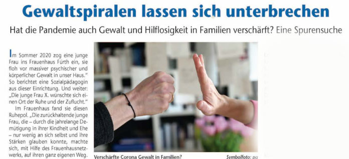 Verschärfte Corona Gewalt in Familien?Symbolfoto: pa