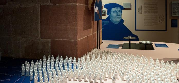 Inszenierung der Antwort Karls V. auf Martin Luther. Foto: Bertram (PR)