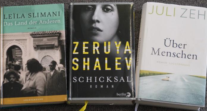 Slimani, Shalev; Zeh und ihre aktuellen Romane