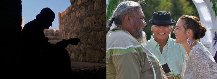 """Szenenfotos aus """"Die Wächterin"""" und """"Non Western"""". Fotos: NIHRFF"""